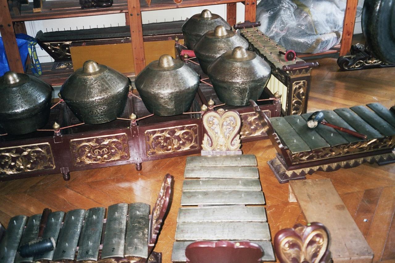 Atelier autour du Gamelan  Paris Juillet 2006