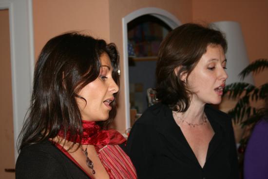 Répétition chanteuses préparation CD Février 2008