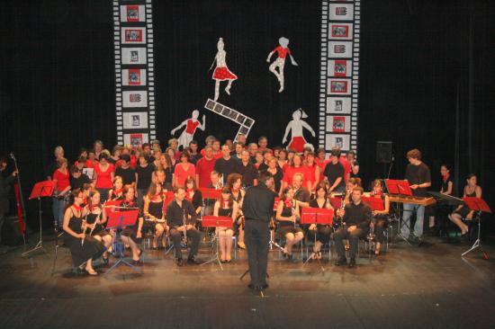 Ecole musique West Side Story Juin 2008