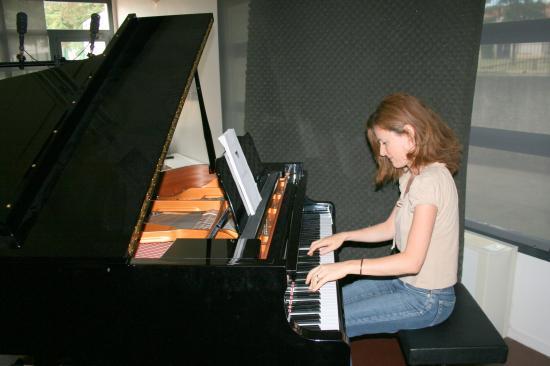 Enregistrement CD Sophie Leal Juillet 2008