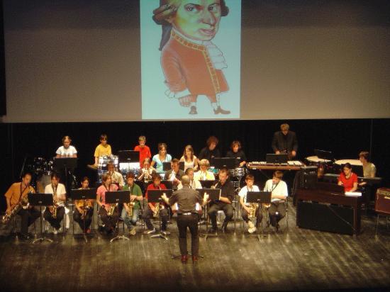 Ecole musique Spectacle Mozart Juin 2006