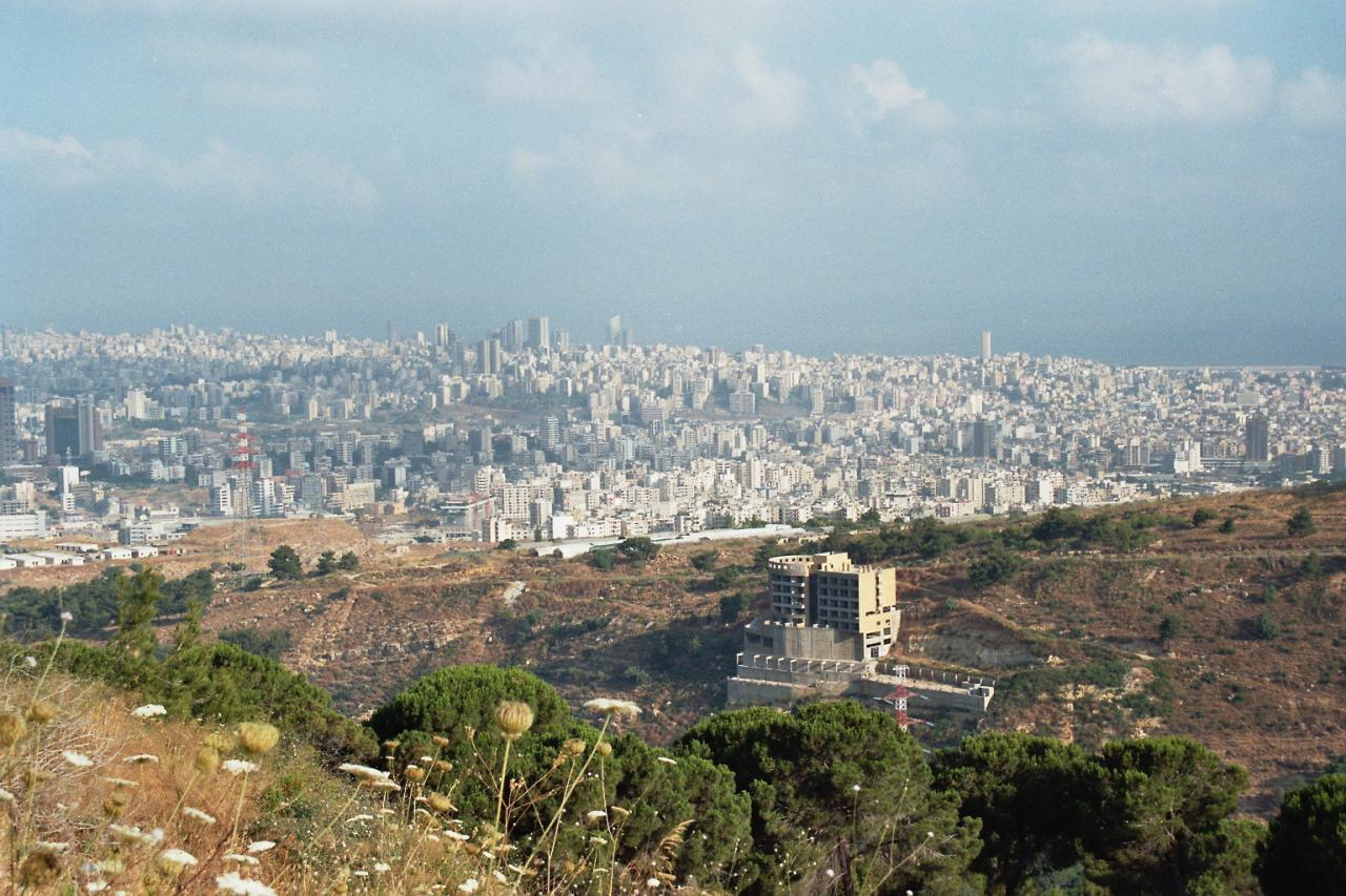 Stages musique Beyrouth Liban Juillet 2005 et 2006