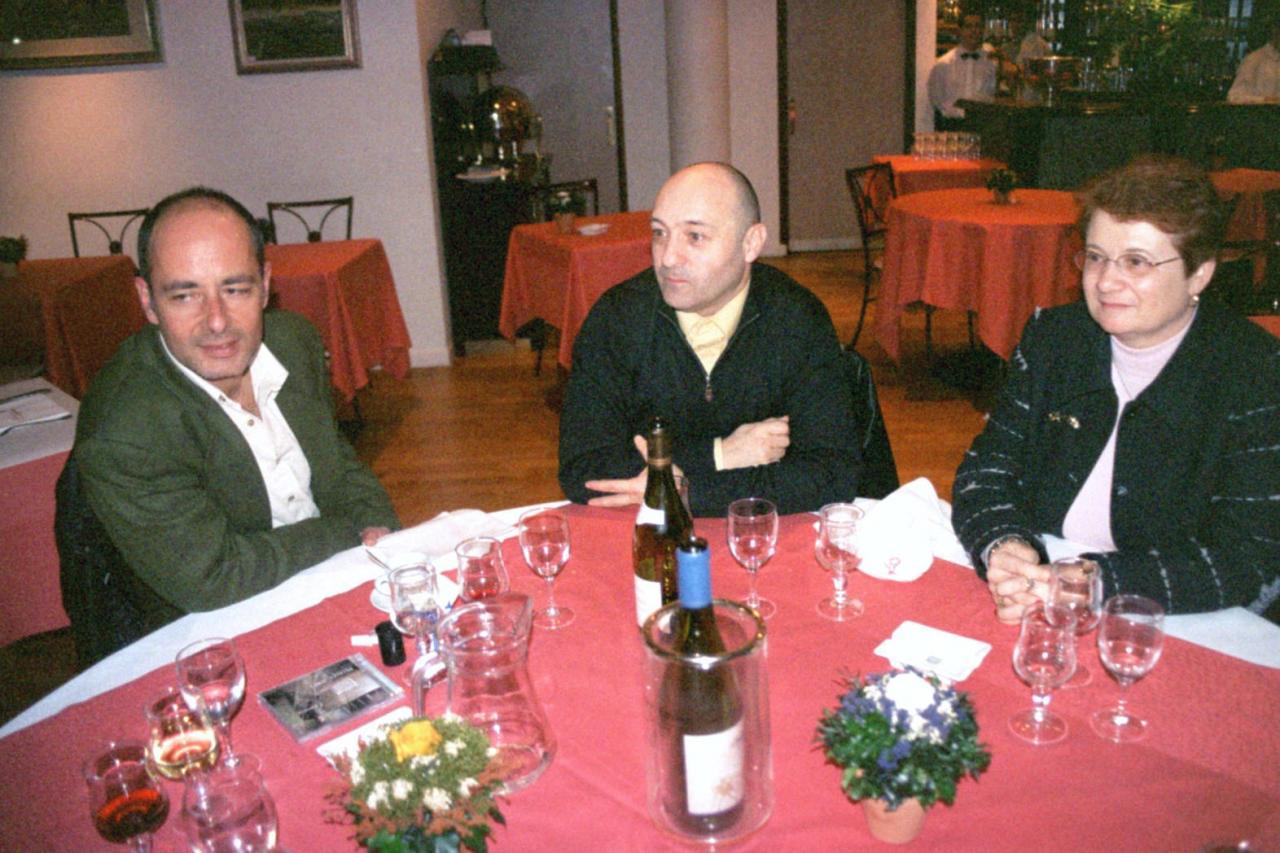 Master class Repas Mickael Jones Février 2004