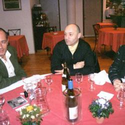 REPAS AVEC MICKAEL JONES Février 2004
