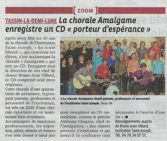 Article cd amalgame 2014