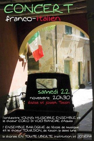 Concert italie