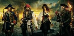Pirates des caraibes 4 hd bandeau