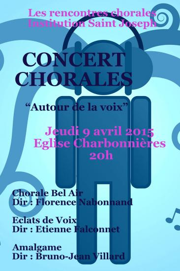 Rencontre chorales 9 avril 2015